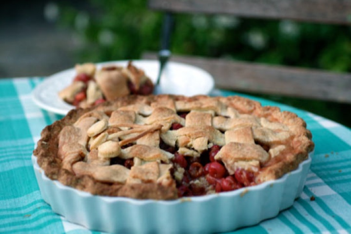 pie back to basics cherry pie recipes dishmaps back to basics cherry ...