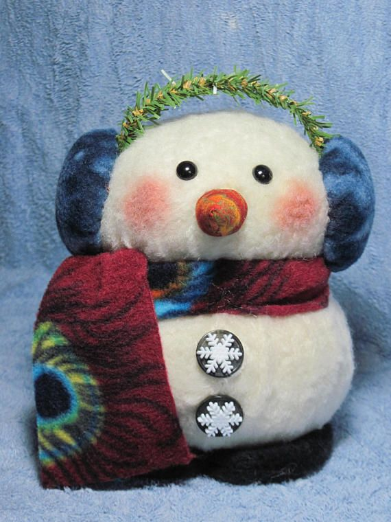 "This snowman will ""tug"" on your heartstrings."