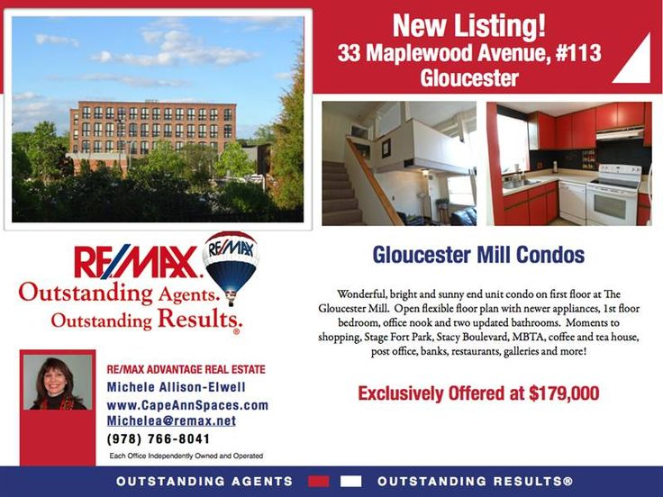 Downtown Urban living in America's oldest working seaport. $179,000 First floor end unit. Mint condition.