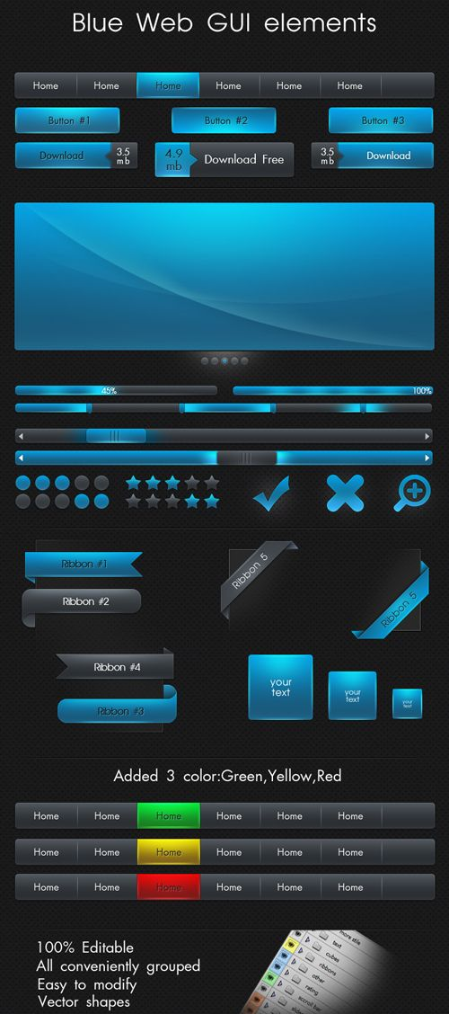 34 Free UI Kits for Web and Mobile-38