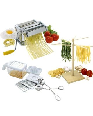 Everything you need to make an Italian meal! Get it here: www.bhg.com/shop/norpro-italian-meal-making-kit-p518a9035e4b0442b85fc3c52.html?mz=a