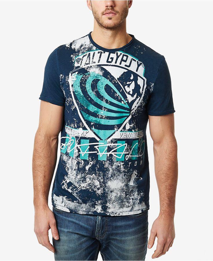Buffalo David Bitton Men's Naviz Graphic-Print T-Shirt - T-Shirts - Men - Macy's