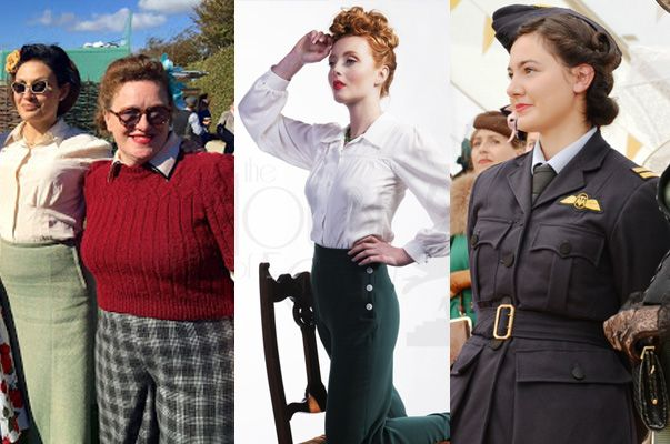 goodwood revival 1940s clothing ideas