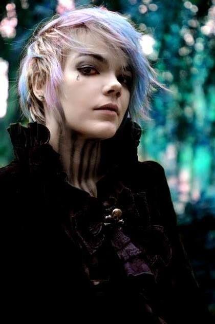 Cute. Goth Boy