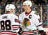 Jonathan Toews and Patrick Kane sign eight-year extensions with $10.5 million cap hits – which is completely reasonable
