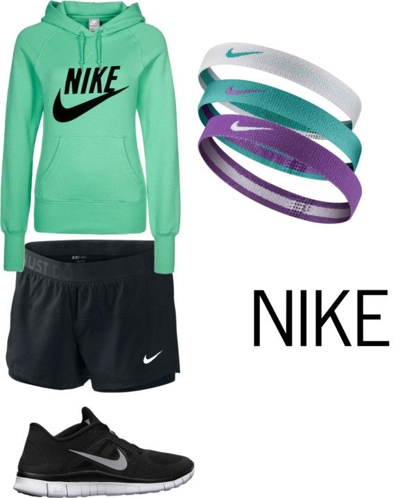 """""""NIKE Jogging Outfit"""" by fashionistalover00 on Polyvore"""