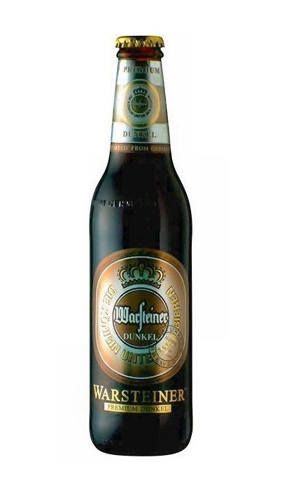 Cerveja Warsteiner Premium Dunkel - Cervejaria Warsteiner Brauerei