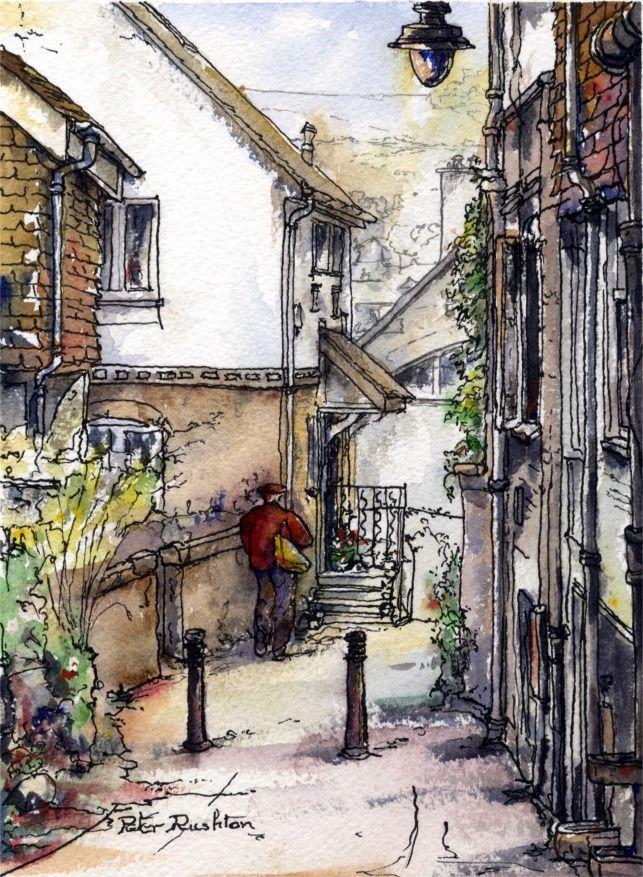 Pen and wash William Rushton