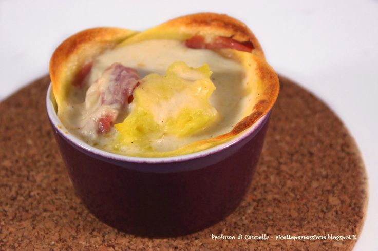 Lasagna monoporzione con speck e patate – sfoglia fatta in casa alla zucca