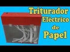 Cómo Hacer un Triturador de Papel Casero (muy fácil de hacer) - YouTube