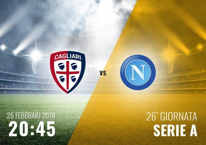 (adsbygoogle = window.adsbygoogle    ).push({});  Watch Cagliari vs Napoli Live Football Stream  Live match information for : Napoli Cagliari Italian Serie A Live Game Streaming on 26 February 2018.  This Football match up featuring Cagliari vs Napoli is scheduled to commence at 19:45 UK 01:15 IST. You can follow this match inbetween Napoli and Cagliari  Right Here.   #Cagliari201826February2018 #Cagliari2018GameLive #Cagliari2018Soccer #CagliariSoccerlivestream #CagliariSo