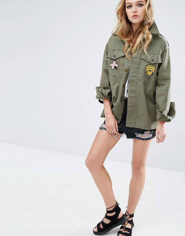 Blouson Femme Militaire