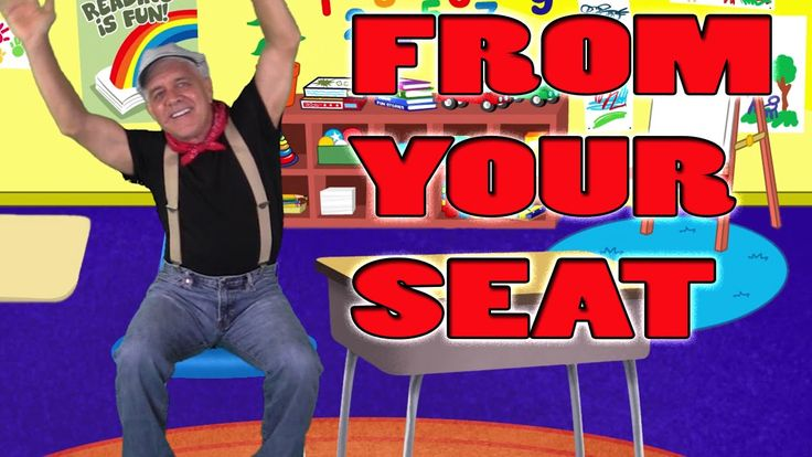Brain Breaks - Action Songs for Children - From Your Seat - Kids Songs b...