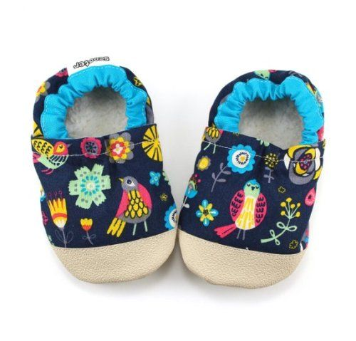 371393799aa94 Buy Now baby bird shoes blue bird booties bird moccs floral soft ...