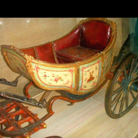 Carriage used by Marie Antoinette children