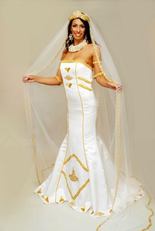 17 Beautiful African Wedding Dresses Wedding Attire Egyptian
