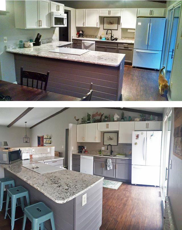 Diy Open Concept Kitchen Our Spontaneous Home Renovation Open Concept Kitchen Living Room Kitchen Concepts Living Room Kitchen #renovation #of #living #room