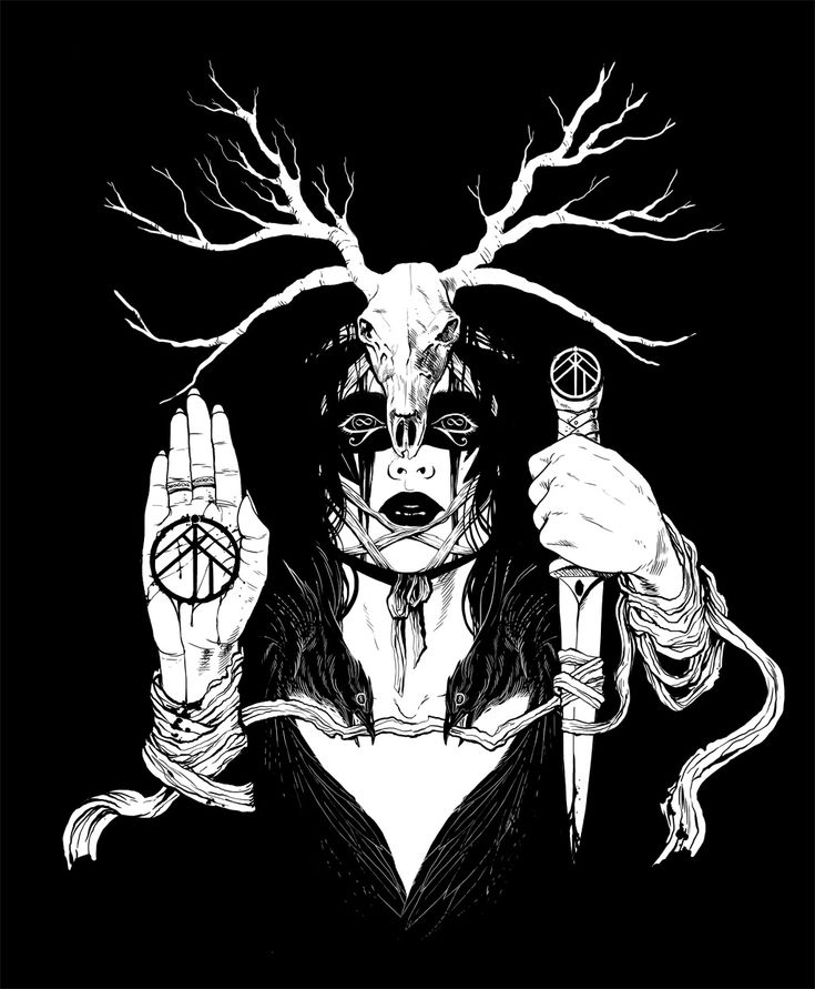 Black metal art