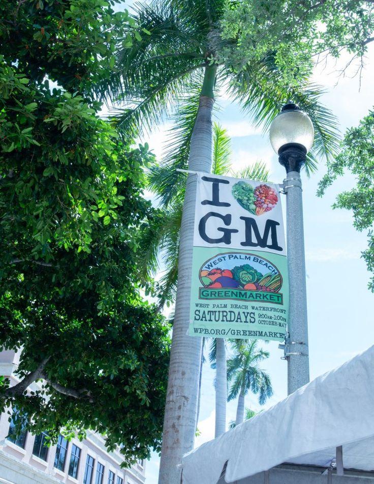 West Palm Beach Greenmarket Downtown West Palm Beach West Palm West Palm Beach