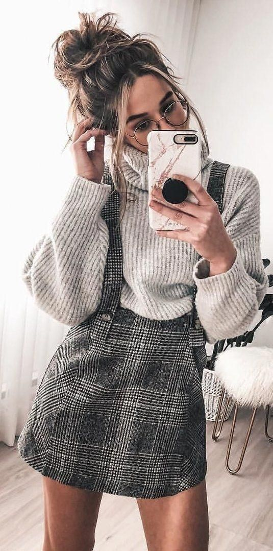 45 Most Popular School Outfit style for Fall 2018 – 27 #womensfashionideas – O…