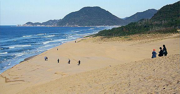 Tottori Travel: Sand Dunes (Tottori Sakyu)  Japan