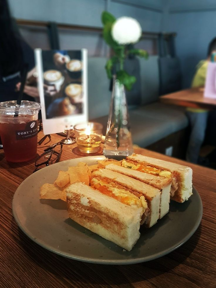 """Spam & Egg Sandwich"", Toby's Estate, Jakarta"
