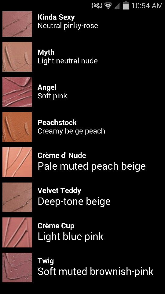 top Mac nude shades (Velvet Teddy). Twig also great as a lip liner.