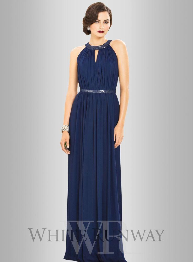 Dessy Chantelle Dress (In Champagne) - $350