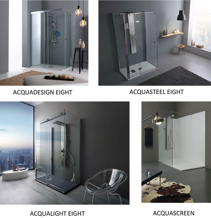 Grandform presenta la collezione Shower: Soluzioni vetro spessore 8 mm