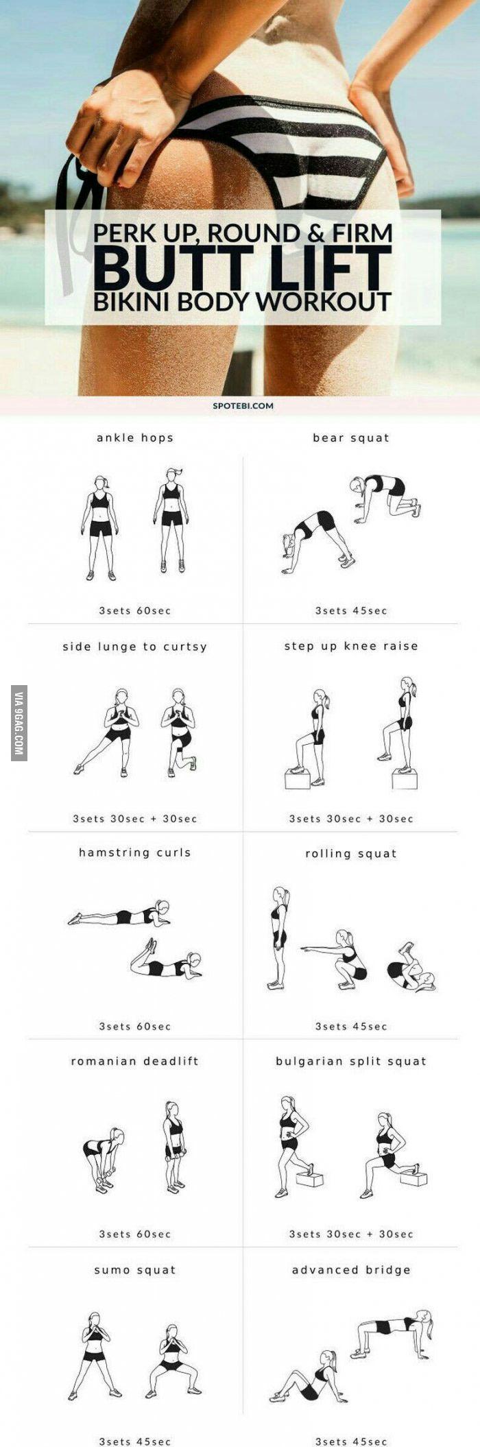 Summer butt workout... - 9GAG