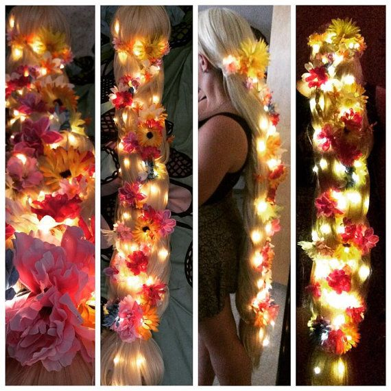 Rapunzel Wig Commission GLOWING VERSION by MimicOctopusCosplay