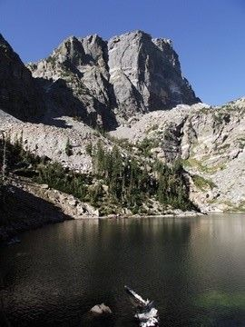 Rocky Mountain National Park - Top 10 Hikes - Looking forward to trying a couple! Hallett peak from Emerald lake