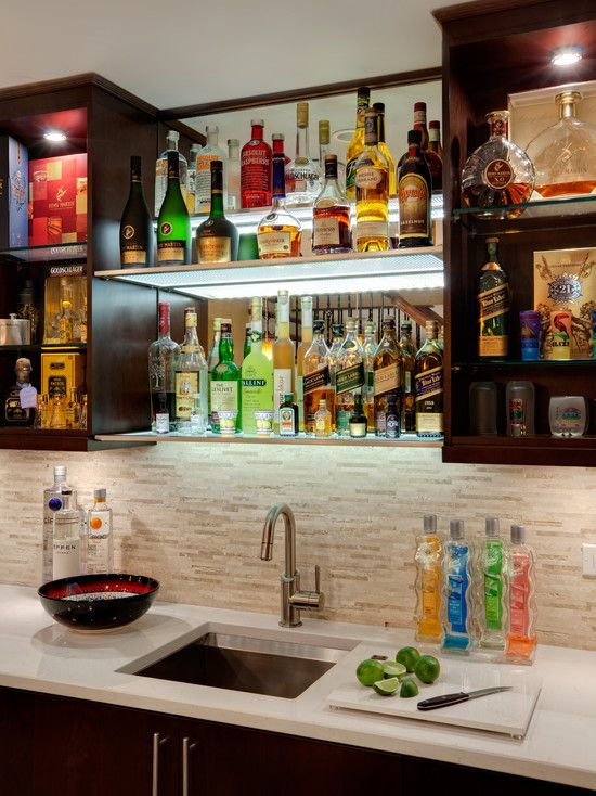Contemporary Basement Man Cave Design Pictures Remodel Decor And Ideas Page 2