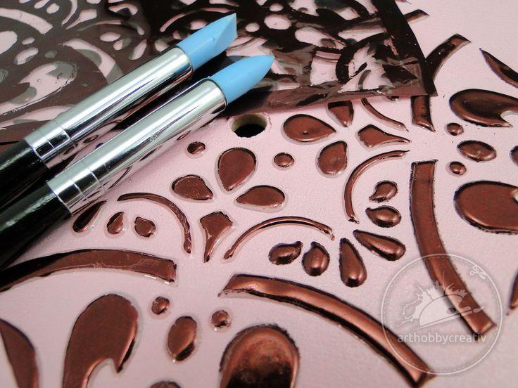 Ceas de perete cu folie decor Pentru mai multe poze si detalii te asteptam pe siteul nostru: http://www.arthobbycreativ.ro/blog.php?sm=285