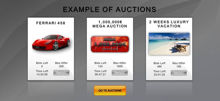 Juubeo Strategy Auction