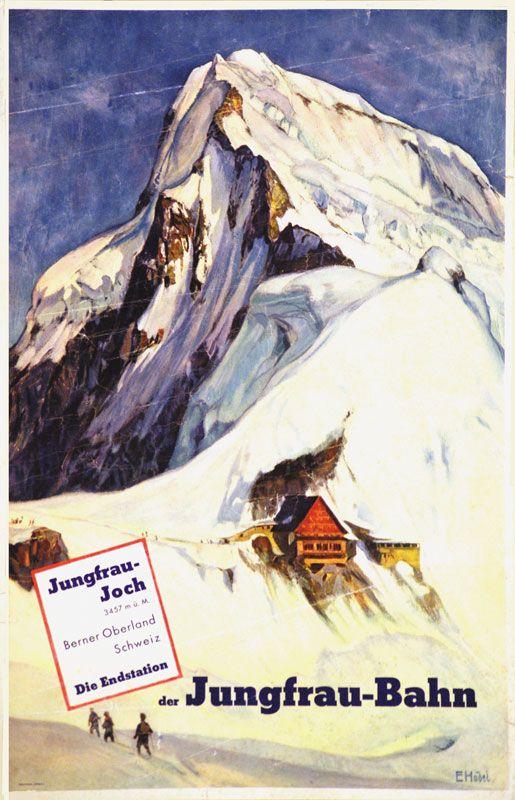 Jungfrau Bahn Ernst Hodel