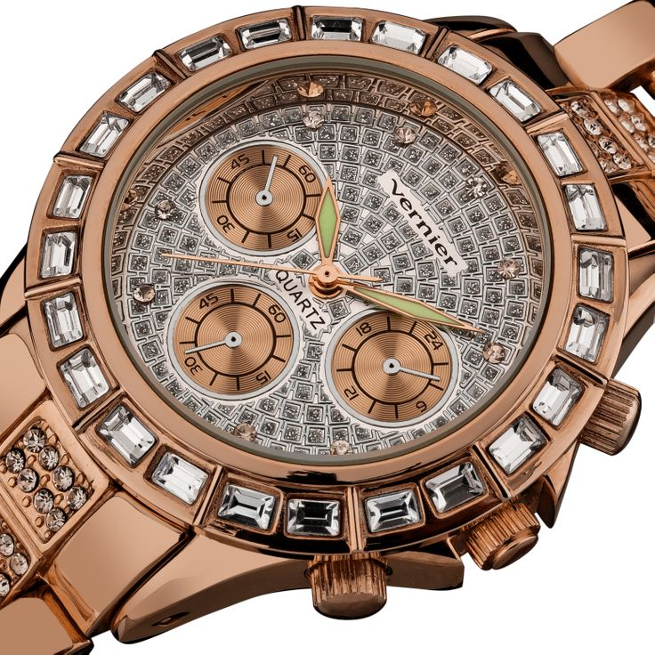 Faux Chronograph Bracelet Quartz Watch $28.99  +$85 value
