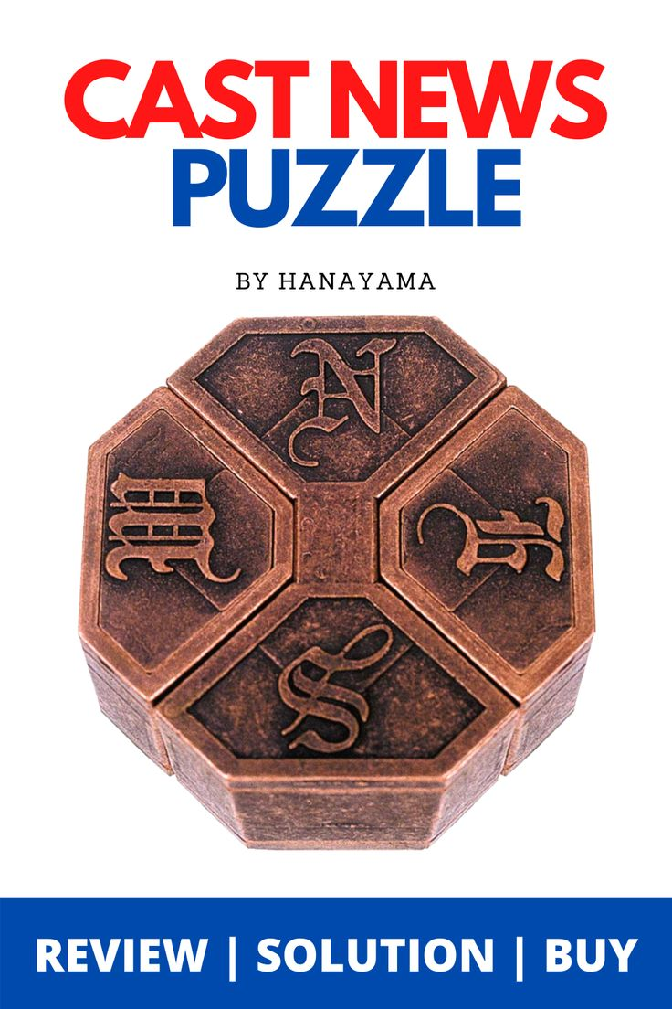Pin on HANAYAMA Metal Puzzles Reviews Solutions Tips