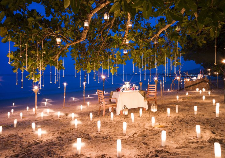 Romantic Dinner at The Sarojin, Khao Lak, Thailand