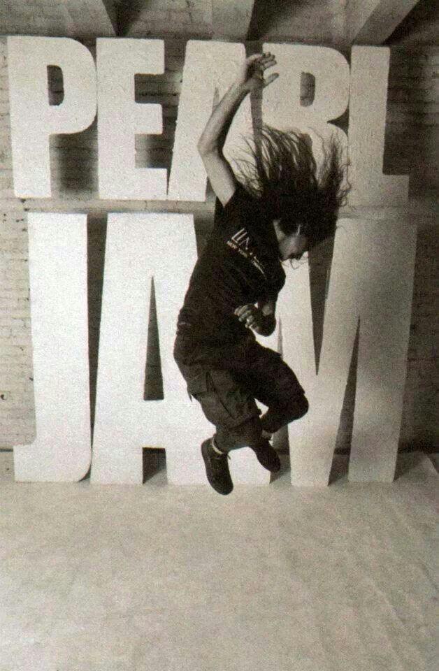 "Pearl jam- favorite song of theirs is ""Do the Evolution""."