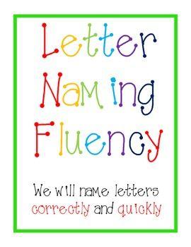 Letter naming fluency DIBELS FREE | Kindergarten | Pinterest