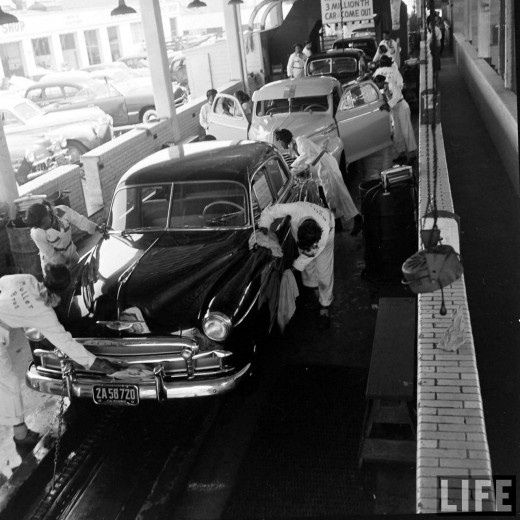 53 best 100 years of car wash images on pinterest car cleaning vintage everyday muller bros car wash 1951 solutioingenieria Choice Image