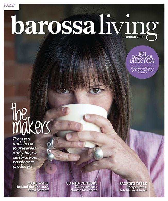 Jason Hamer - Creative Director for Barossa Living Magazine Autumn 2014