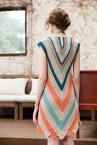 Ravelry: Seaside Dress pattern by Moon Eldridge