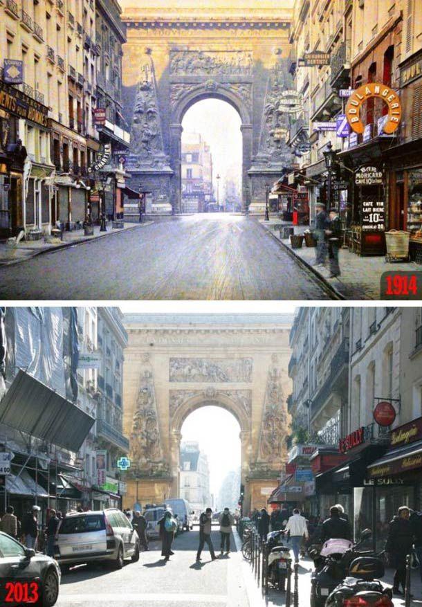 ne excellente série de photographies qui met face à face Paris en 1900 et Paris en 2013 ! Le site Rue89 a comparé les photographies anciennes, issues de la collection Albert Kahn, au Paris moderne en retrouvant les lieux et les angles de prises de vues.
