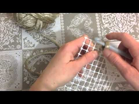 ▶ Fettuccia Spaghetto - Catenella su rete - YouTube