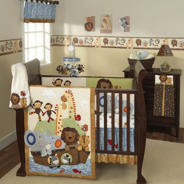 Спальня малыша в африканском стиле