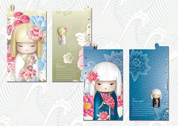 Dividers with TOP tab for Filofax PERSONAL by lucyWONDERLAND