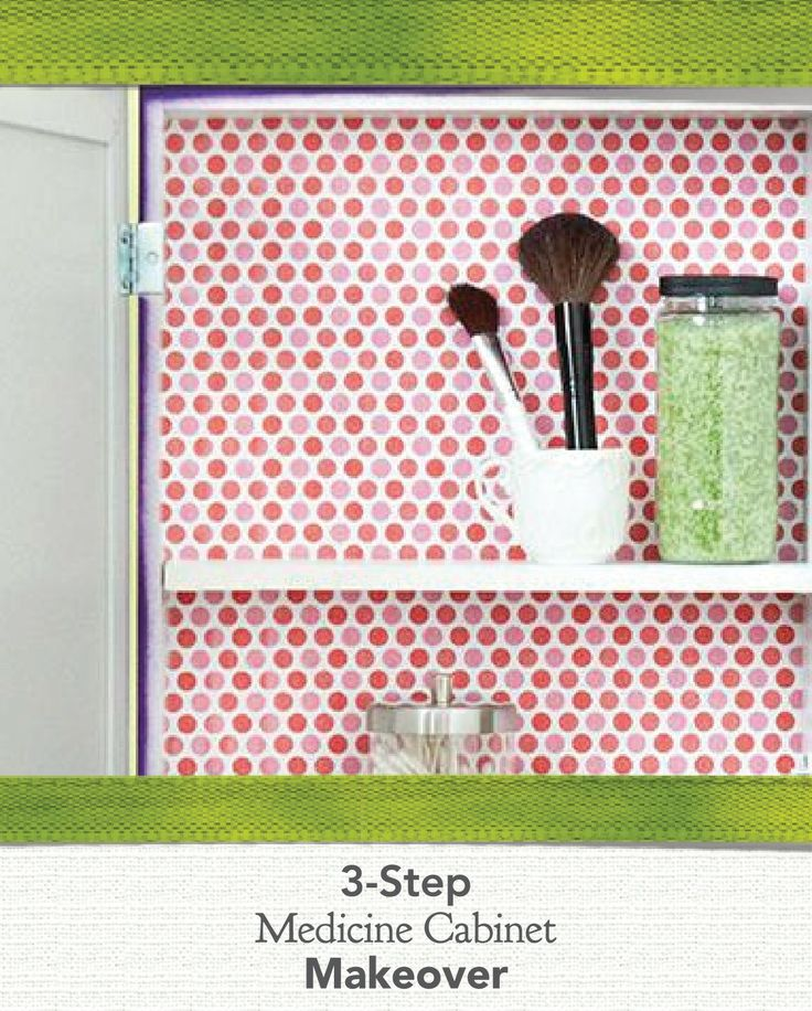 Makeover your medicine cabinet in 3 easy steps!