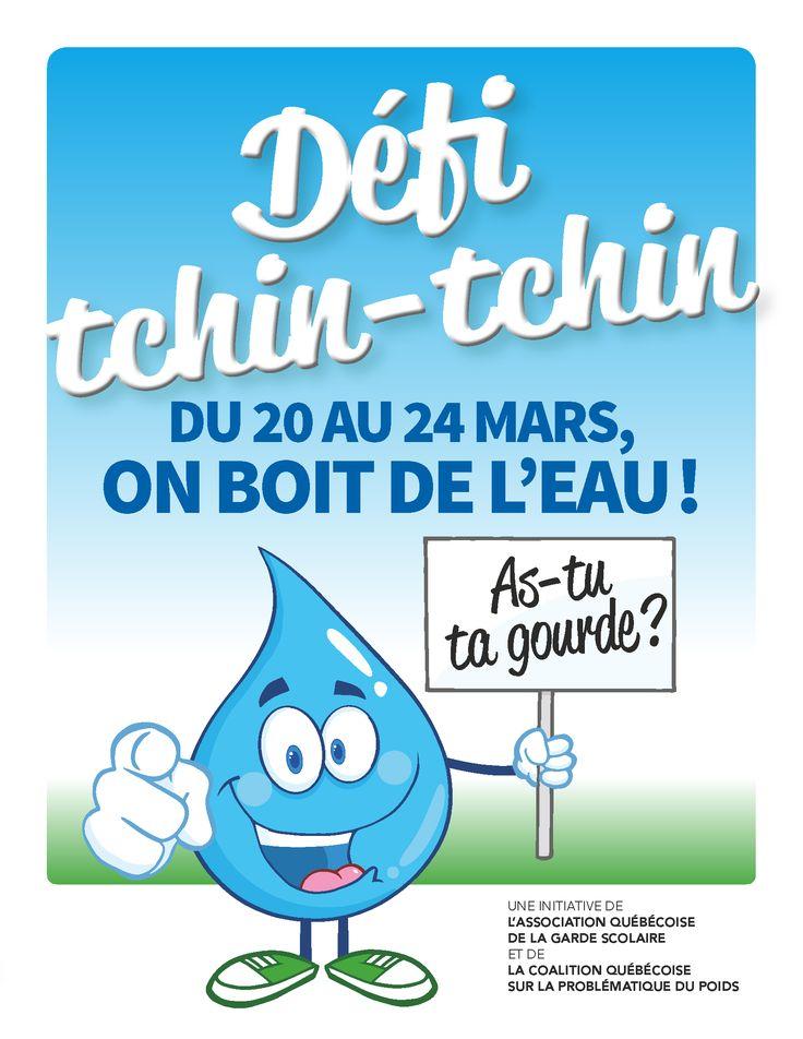 Trousse téléchargeable qui contient trois activités qui abordent la consommation d'eau sous l'angle de la saine hydratation et deux jeux physiques où l'eau est mise en vedette.